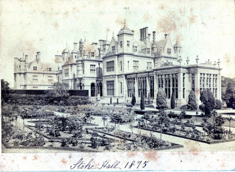 Stoke Rochford Hall 1875 (Flickriver)