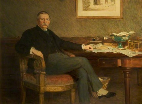 Andrew Barclay Walker (William Quiller Orchardson) BBC Your Paintings