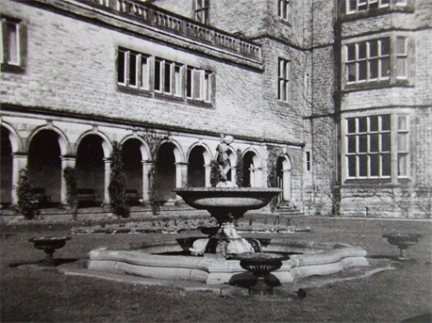 Osmaston Manor Courtyard (A Tale of Downward Social Mobility)