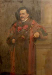 Davis, Noel Denholm; Albert Ball, JP, Mayor of Nottingham (1909-1910); Nottingham City Museums and Galleries; http://www.artuk.org/artworks/albert-ball-jp-mayor-of-nottingham-19091910-46996