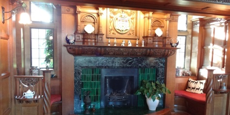 Fireplace at Dunsley Hall (House and Heritage)