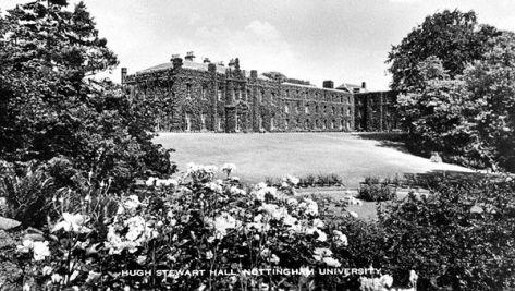 Hugh Stewart Hall c1960s (Lenton Times)