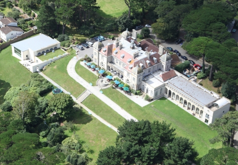 Fowey Hall Aerial (Such Good Pictures)