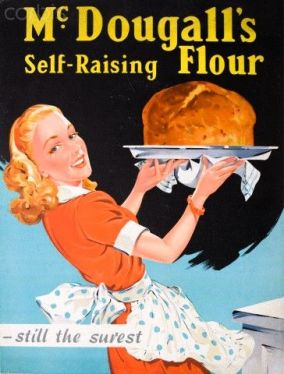 1930's advertisement for McDougall's Self-Raising Flour (Pinterest)