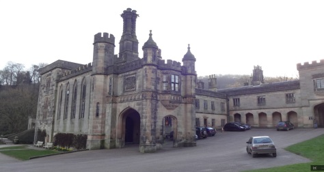 Ilam Hall entrance (House and Heritage)