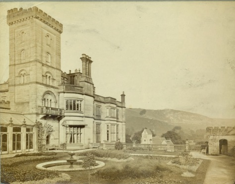 Ilam Hall image - from Derby Library (National Trust)