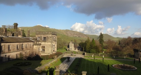 Ilam Hall today looking towards the church (House and Heritage)