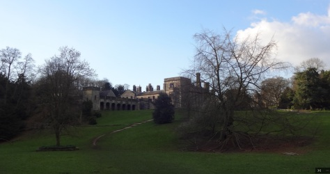 Ilam Hall view (House and Heritage)