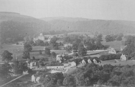 Photoograph of Ilam from Bunker Hill - Late C19 (peakdistrict.gov.uk)