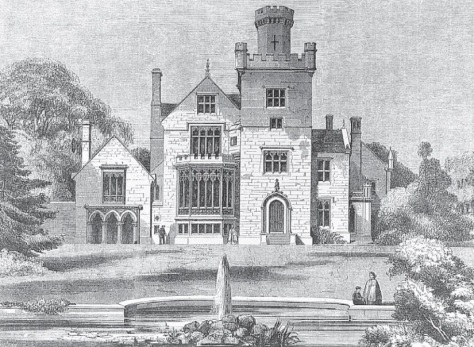 Breadsall Priory (1860-61) (The Building News)