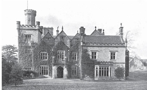 Breadsall Priory 1905 (A Victor Haslam - Derbyshire Archives)