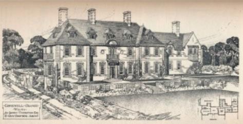 Conkwell Grange c1907 (RIBA)