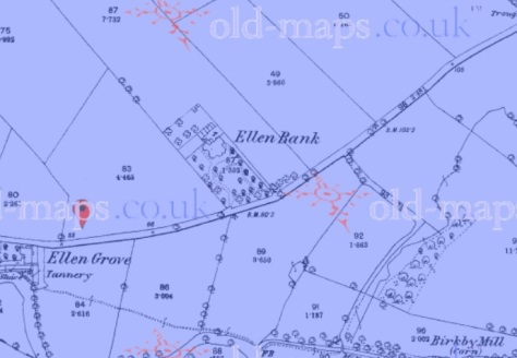 Ellen Bank 1863 (Old Maps)