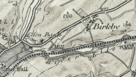 Ellen Bank Maryport 1897 (Ordnance Survey of England)