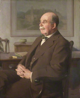 by Sir Gerald Kelly, oil on canvas, 1927