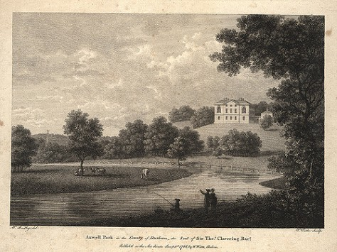 000384:Axwell Park engraving 1786