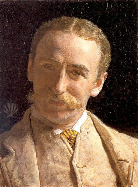 william-connal-jr-esq-of-solsgirth-1883 bY Albert Joseph Moore York Art Gallery)