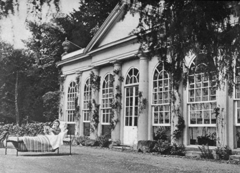 Shardeloes - The Orangery dating back to 1790 - The Tatler 5 June 1940