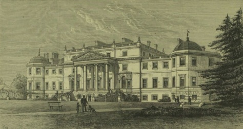 Wrotham Park The Illustrated London News March 17 1883