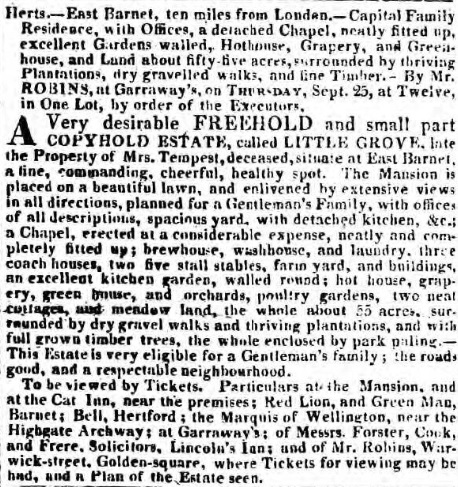 Morning Post 3 Sep 1817 (BNA)