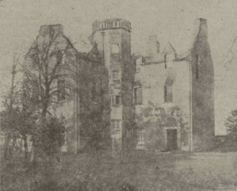 Old Suaghton House - Daily Record - 2 Feb 1918