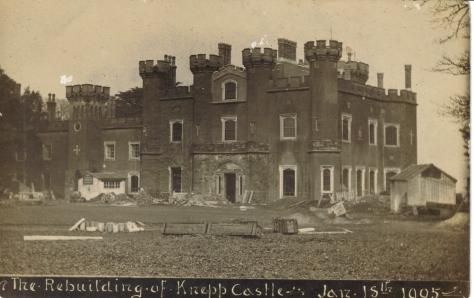 03-rebuilding-knepp-castle-jan-18th-1905 (familyhistorymusingsbymarian)