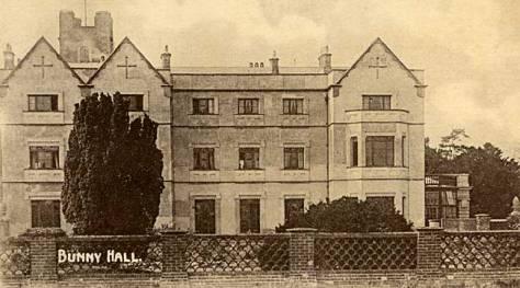 Bunny Hall - 1910 (Nottinghamshire History)