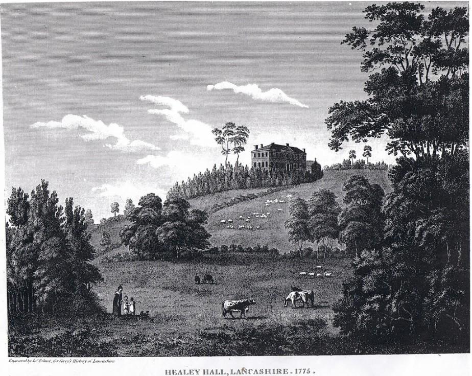Healey Hall 1775 (JPSutcliffeFiles)
