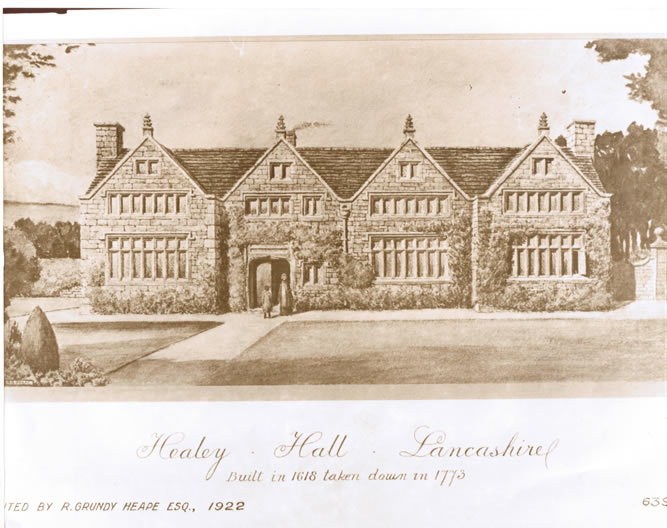 Healey Hall Original (JP Sutcliffe Files)