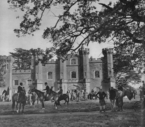 Knepp Castle -The Tatler - 1 Dec 1948 (BNA)