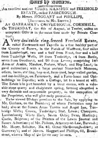 Public Ledge and Daily Advertiser - 25 Jul 1807 (BNA)