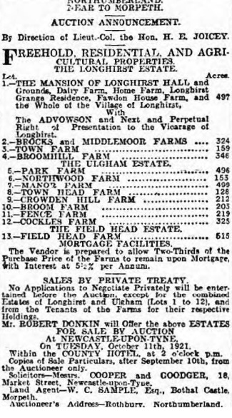 Yorkshire Post and Leeds Intelligencer - 14 Sep 1921 (BNA)