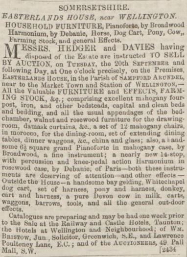 Dorset County Chronicle - 25 Aug 1864 (BNA)