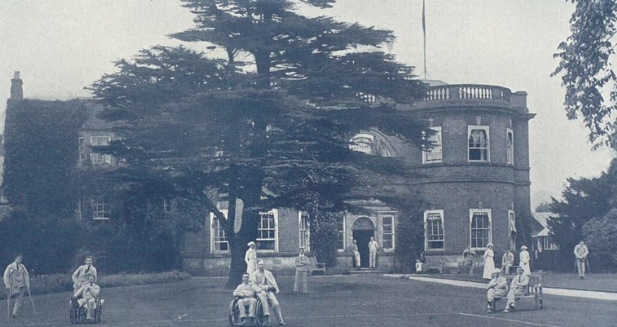 Egginton Hall - The Tatler - Jan 3 1917 - BNA