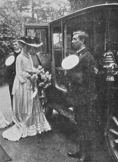 Princess Louise at Hill House - The Sphere 23 Jul 1904 (BNA)