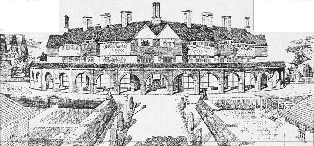 Rotunda at Parklangley - The Bystander - Apr 27 1910 - BNA