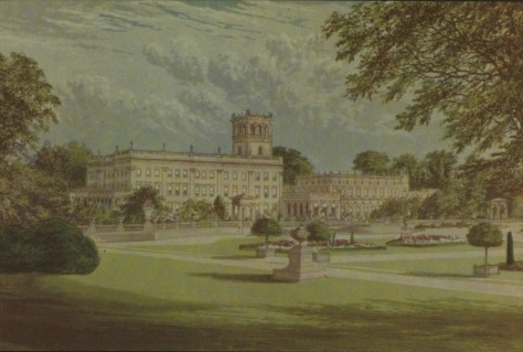 Trentham Hall - Staffordshire - Illustrated London News - 1 Oct 1974 (BNA)