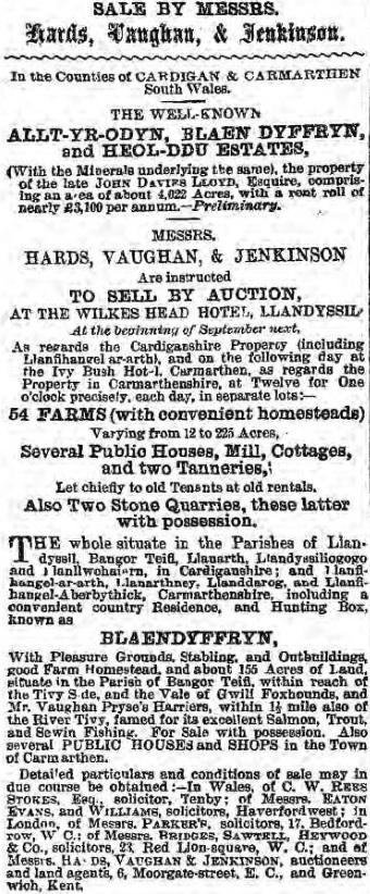 Baner ac Amserau Cymru - Wed 3 Aug 1881 - BNA