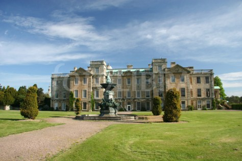 Classic view of Welbeck Abbey