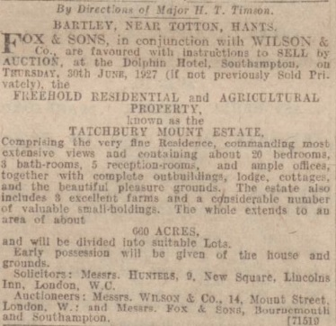Western Gazette - 13 May 1927 - BNA