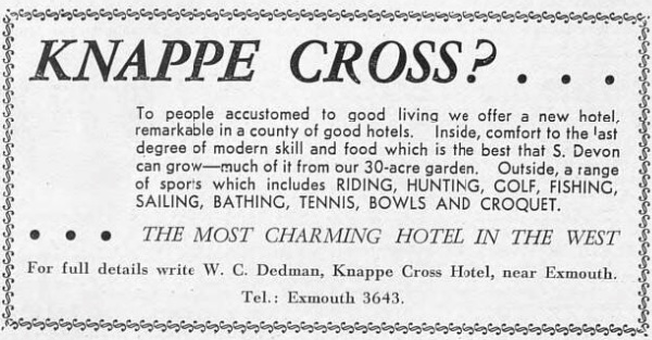 Knappe Cross - Illustrated Sporting and Dramatic News - 15 Apr 1938 -BNA