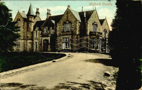 gilford castle - postcards ireland