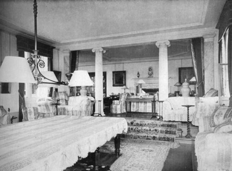 lilleshall hall - billiard room - shropshire history 8