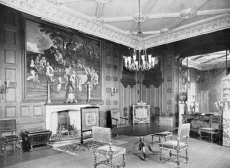 lilleshall hall - dining room - shropshire history 6