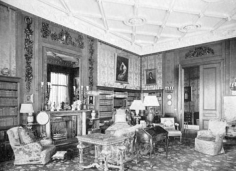 lilleshall hall - drawing room - shropshire history 7