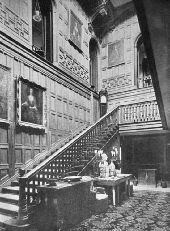 lilleshall hall - grand hall - shropshire history 5