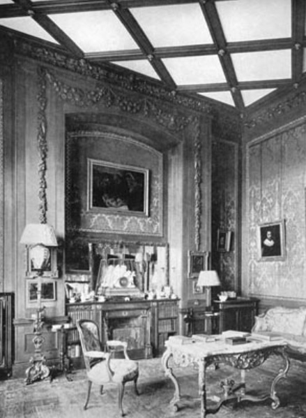 lilleshall hall - red drawing room - shropshire history 4
