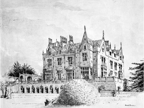 lilleshall hall - shropshire history 1