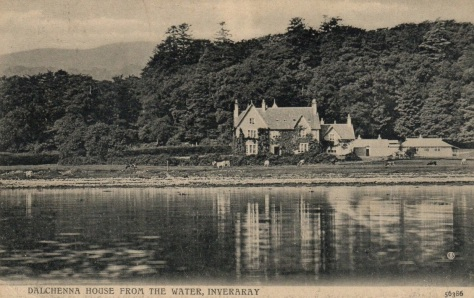Dalchenna House - Postcard 1
