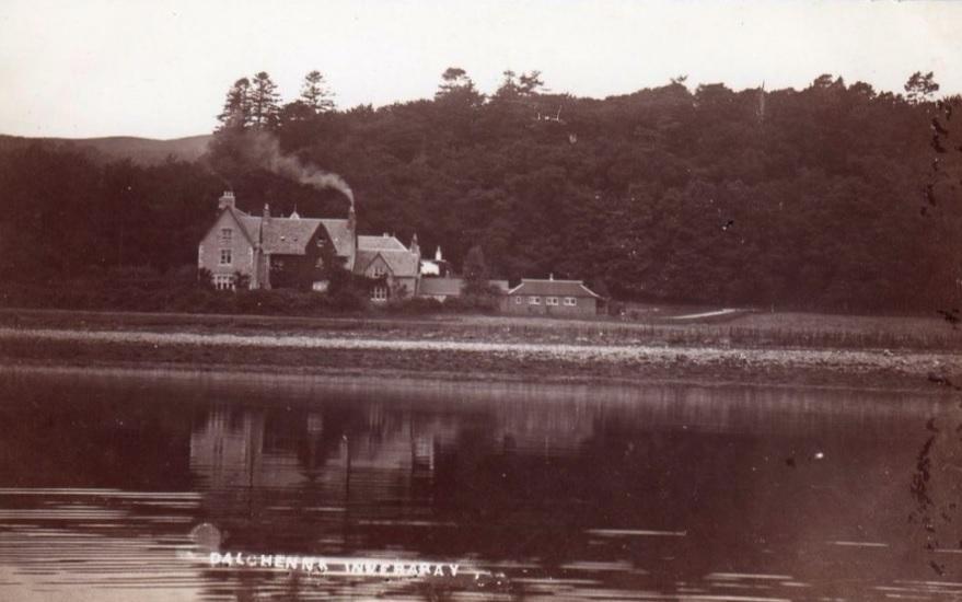 Dalchenna House - Postcard